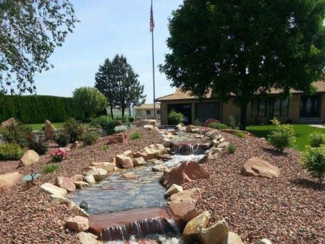Ponds And Water Features Are An Inviting Outdoor Addition To Any Home Or Business Gamache Landscaping Can Create A Unique Feature That Will Satisfy